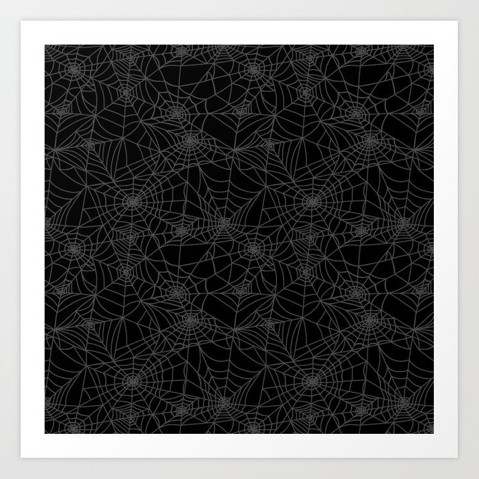 Dead of Night Cobwebs Kunstdrucke