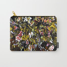 Yellow and Pink Bouquet of Flowes Carry-All Pouch