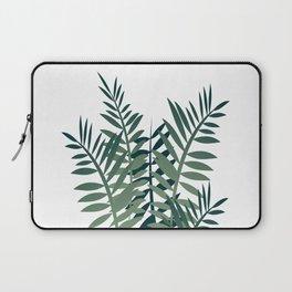 palm fern leaves big size Laptop Sleeve