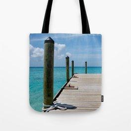 Grand Turk Pier Tote Bag