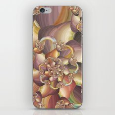 Quiescence Floral Fractal iPhone & iPod Skin