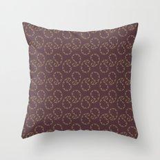 Royal Paisley Throw Pillow