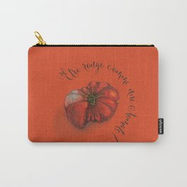 Etre rouge comme une tomate! Carry-All Pouch