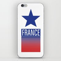 france iPhone & iPod Skins featuring FRANCE by Andrew O'Rourke