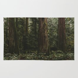 Old growth forest Rug