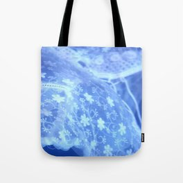 blue moon (#5 in a series: ghost in the swimming pool) Tote Bag