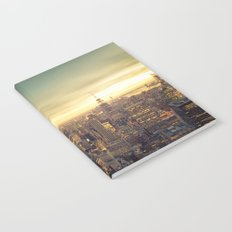 New York Skyline Cityscape Notebook