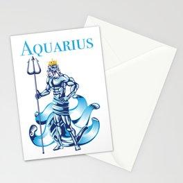 Aquarius Water Zodiac Gift Stationery Cards
