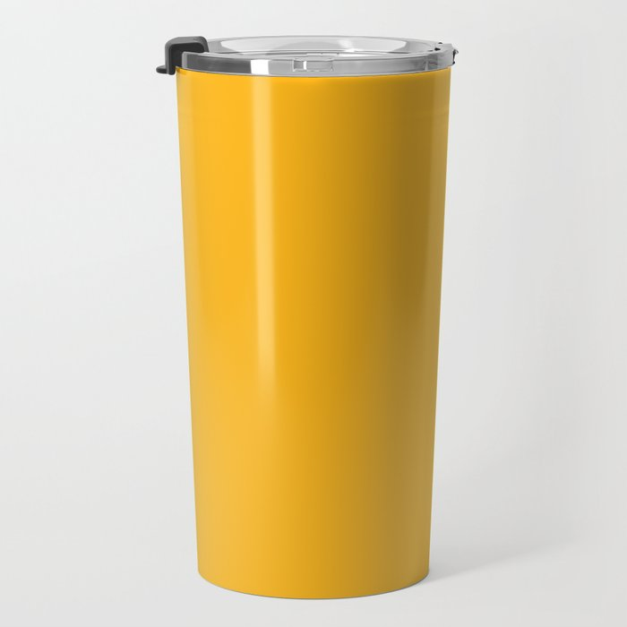 Pittsburgh Football Team Yellow Gold Solid Mix and Match Colors Travel Mug