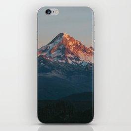 Mount Hood Sunset iPhone Skin