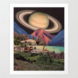 Zanatras Home Base Art Print