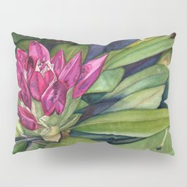 Rhododendron Bud Pillow Sham