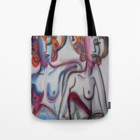 friendship Tote Bags featuring FRIENDSHIP by Loosso