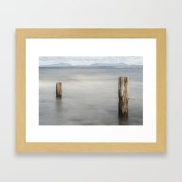 Point to Point Framed Art Print
