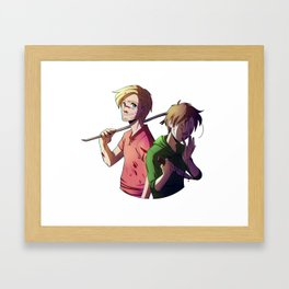 Pewdiecry Framed Art Print