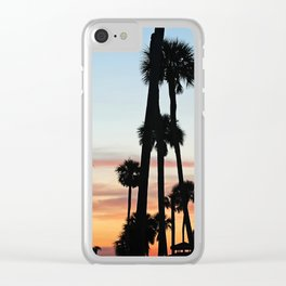 A Day in Paradise Clear iPhone Case