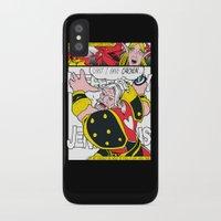 lichtenstein iPhone & iPod Cases featuring Leeeeee-ROY Lichtenstein!!! by Oubliette