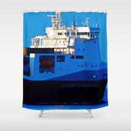 Connaigra Close-Up Shower Curtain
