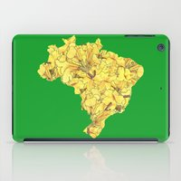 brazil iPad Cases featuring Brazil by Ursula Rodgers