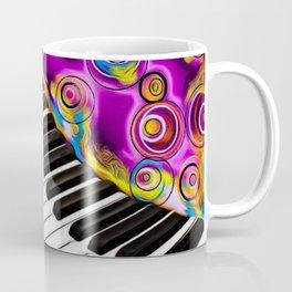 PIANO FLOWS Coffee Mug