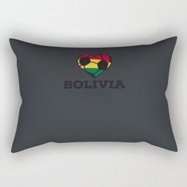 Bolivia Soccer Shirt 2016 Rectangular Pillow
