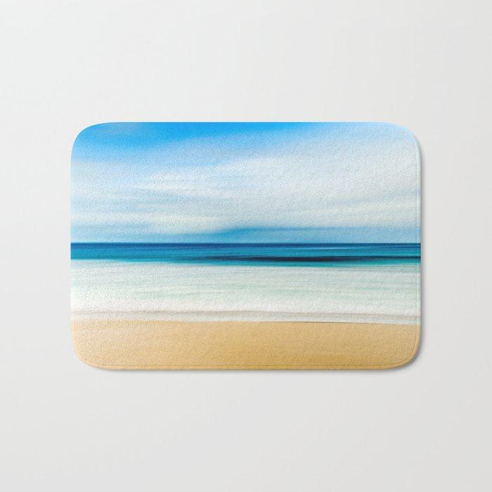 Pastel Ocean mood Bath Mat
