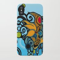 koi fish iPhone & iPod Cases featuring Koi Fish by Diana Dypvik