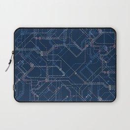 Public Transport Network Laptop Sleeve