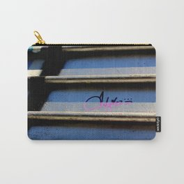 Purple Metallic Tagging Carry-All Pouch