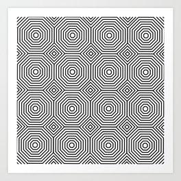 Op Art 3 Art Print