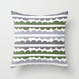 Mordidas Kale Throw Pillow