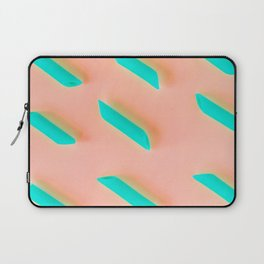 Neon Abstract Pasta Noodles Pattern (Color) Laptop Sleeve