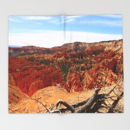 Sunset Point At  Bryce Canyon Throw Blanket