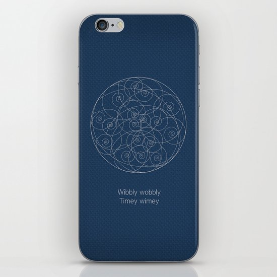 Doctor Who: Wibbly Wobbly iPhone & iPod Skin