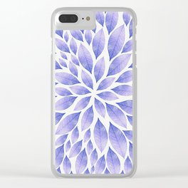 Petal Burst #22 Clear iPhone Case