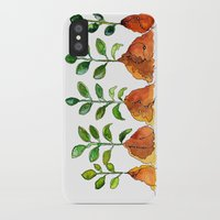 succulents iPhone & iPod Cases featuring Succulents by Gosia&Helena