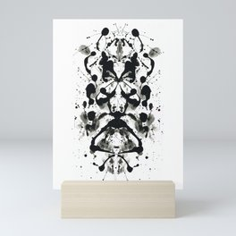 Rorschach-Poem Mini Art Print