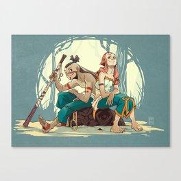 Shou & Iah Canvas Print