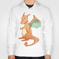 charizard Hoodies featuring Charizard by jimmy