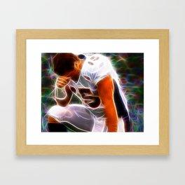 Magical Denver Broncos Tim Tebow Tebowing Framed Art Print