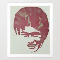 jon contino Art Prints featuring Jon by Jose Luis