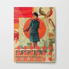 Superteen Metal Print