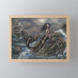 The call of the storm Framed Mini Art Print