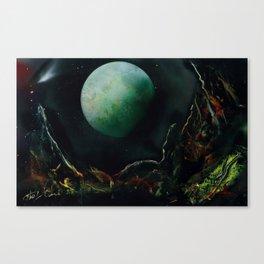 The Lunar Garden Canvas Print