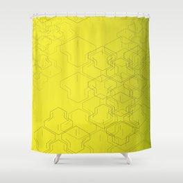 Tire Mark Shower Curtain