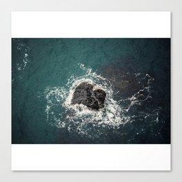ocean loves you Canvas Print