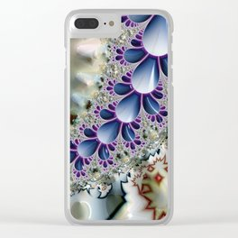 Birth of the Sea Slugs Fractal Clear iPhone Case