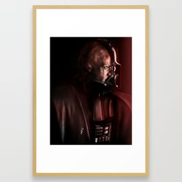 Anakin tragedy Framed Art Print