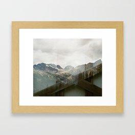Mountain Foundations  Framed Art Print