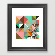 House of blocks Framed Art Print